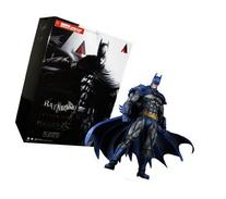 BATMAN ARKHAM CITY Play Arts KAI Batman  1970s Batsuit Skin