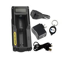 BUNDLE: Nitecore UM10 USB Li-ion Battery Charger For 18650/