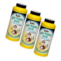 Baby Anti-Monkey Butt Diaper Rash Powder, 6oz. Bottle - 3