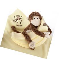 Baby Aspen Monkey Magoo and Blankie Too Gift Set