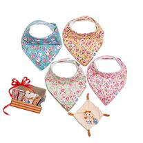 Baby Bandana Drool Bibs for Drooling and Teething 100%