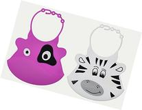 Baby Bib Set with Food Pocket From Jamika Products - Cute