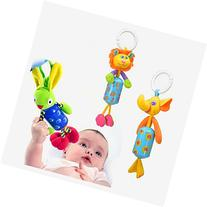 Kiddos Baby Rattle Toy Kids Stroller Hanging Bell Carseat\