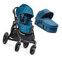 Baby Jogger - City Select Stroller with Bassinet - Teal