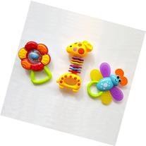 Baby Rattle Animal Toys, Development of Fine Motor Skills,