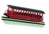 Bachmann Industries Inc. Jackson Sharp Open-Sided Excursion