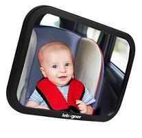 lebogner Back Seat Mirror, Rear-Facing Infant Mirror,