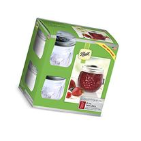 Ball Jelly Elite Collection Jam Jar , 8 oz, Clear