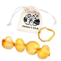 Baltic Amber Teething Bracelet or Anklet for Babies,