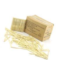 """BambooMN Brand - 1,000 Pieces - 3.5"""" Bamboo Fruit Picks /"""