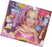 Barbie Deluxe Color, Style & Cut Styling Head (Blonde Barbie