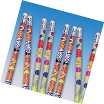 Basketball Pencils value pack of 12