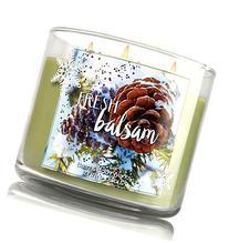 Bath & Body Works 3 Wick Candle 14.5 Oz Fresh Balsam