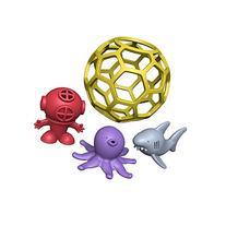 BeginAgain Bathtub Ball-Eco Friendly Rubber Bathtub Toy -