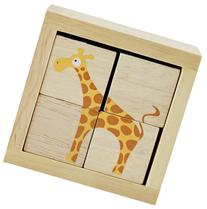 BeginAgain BuddyBlocks Safari Animals - Educational Puzzle