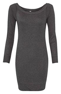 Bella + Canvas Ladies' Lightweight Sweater Dress>2XL DK GREY