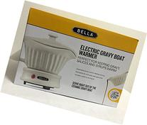 Bella Electric Gravy Boat Warmer Ceramic with Lid Detachable