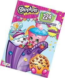 Bendon Shopkins 224 Page Coloring & Activity Book Including