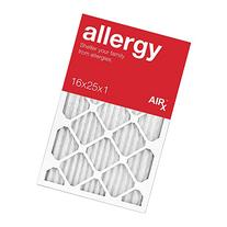 AiRx ALLERGY 16x25x1 Air Filters - Best for Allergy