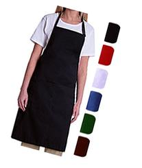 Bib Aprons-MHF Aprons-1 Piece Pack-new Spun Poly-commercial