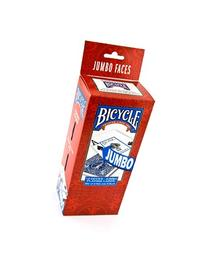 Bicycle Poker Size Jumbo Index Playing Cards, 12 Deck Player