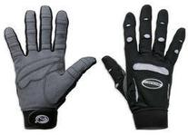 Bionic Womens Full Finger Fitness Gloves , Black, Large