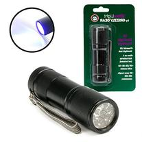 Pet Urine Detector - Ultraviolet Blacklight Flashlight By
