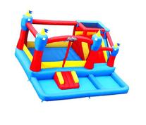 Blast Zone Misty Kingdom Inflatable Bouncer - Water Park