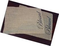 Blessed Burlap Placemats
