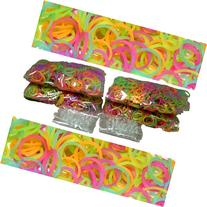 BlueDot Trading 2400-Piece Glow In The Dark Rubber Band Kids