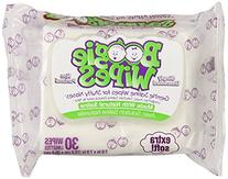 Boogie Wipes Natural Saline Kids and Baby Nose Wipes for