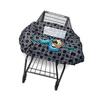 Boppy Shopping Cart and High Chair Cover, City Squares Black