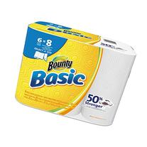 "Bounty 92981 Basic Select-A-Size Paper Towels, 5 9/10"" x 11"
