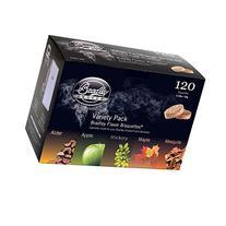 Bradley Smokers BT5FV120 Bisquettes, 5 Flavor Variety, 120-