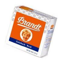 Brandt Zwieback Rusk Toast - 8 oz