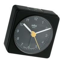Braun BNC002BKBK Classic Analog Quartz Alarm Clock