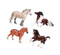 Breyer Stablemates British Pony & Draught Stick Horse 4