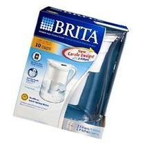 Brita Water Filtration System Kit: 1 Pitcher  Plus 2 Filters