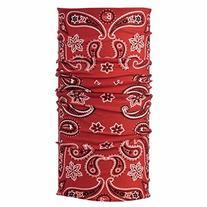 Buff Original Buff - Bandana Print Cashmere Red, One Size