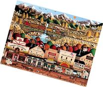 Buffalo Games Sleepy Town West by Charles Wysocki Jigsaw