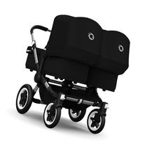 Bugaboo 2015 Donkey Twin Stroller Complete Set in Aluminum