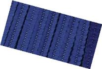 "Bulk Buy: Darice Chenille Stems 6mm 12"" 25/Pkg Dark Blue"