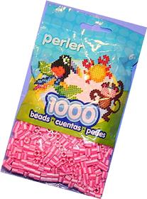 Bulk Buy: Perler Beads Pink Candy Stripe 1,000 Count