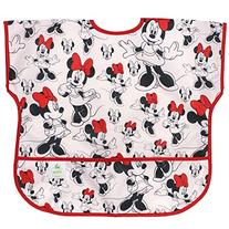 Bumkins Disney Baby Waterproof Junior Bib, Minnie Mouse
