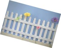 Butterfly Garden Decor for Kids Room Wall Border Picket