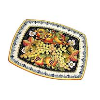 CERAMICHE D'ARTE PARRINI - Italian Ceramic Art Serving Tray