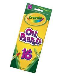 * CRAYOLA OIL PASTELS 16 COLOR SET