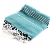 "Cacala 100% Cotton Pestemal Turkish Bath Towel, 37 x 70"","