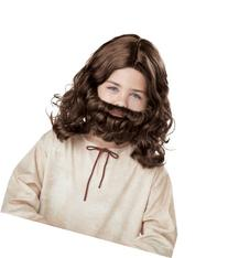 California Costumes Jesus Wig and Beard Child Costume, ACC