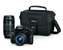 - Eos Rebel T5 Dslr Camera With 18-55mm And 75-300mm Lenses